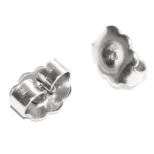 RVS edelstaal achterkantjes voor oorknopjes