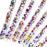 Kleurrijke confetti roerstaafjes
