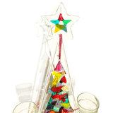 Fraaie kerstboom decoratie van glas!