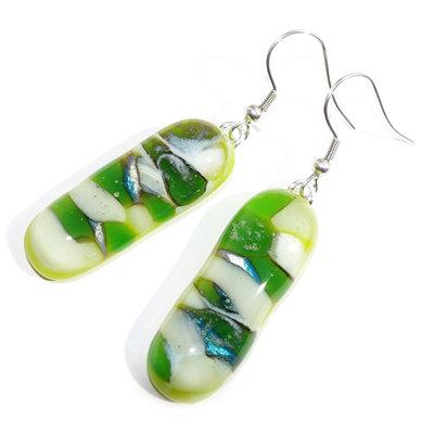 Oorbellen Green Pebbles