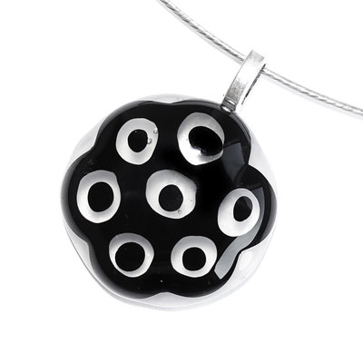 Millefiori Glashanger Black Eyes