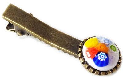 Haarknipje White Multicolor
