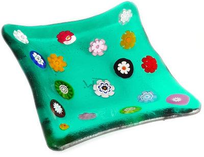 Schaaltje Seagreen Multicolor