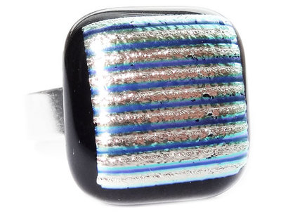 Ring Silver Striped