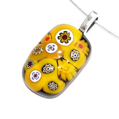Millefiori Glashanger Yellow Treasure