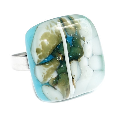 RVS Ring Pebbles