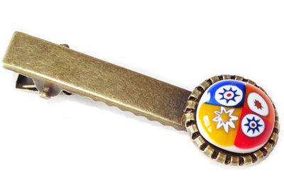 Handgemaakt haarknipje met sterren